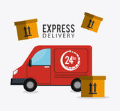 Delivery and logistics Stock Images