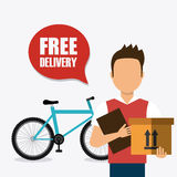 Delivery and logistics Royalty Free Stock Photography