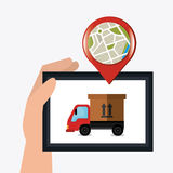 Delivery and logistics Stock Photography