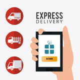 Delivery and logistics Royalty Free Stock Photo