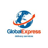 Delivery Logo Template royalty free illustration
