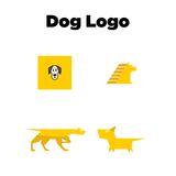 Dog Logo Template Royalty Free Stock Image