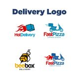 Delivery Logo Template vector illustration