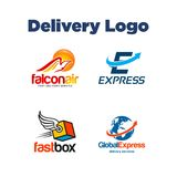 Delivery Logo Template Stock Photos