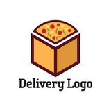 Delivery logo vector template vector illustration