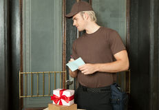 Free Delivery Man Royalty Free Stock Photo - 20358445