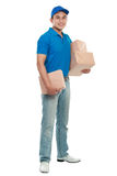 Delivery man Royalty Free Stock Images