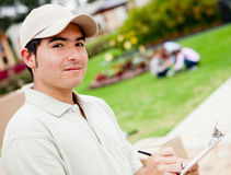 Delivery man Stock Photos