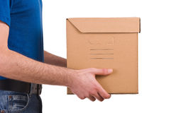 Delivery man. Image of a delivery man Stock Photography