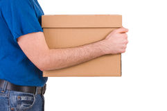 Delivery man. Stock Photos