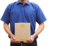 Delivery man Stock Photography