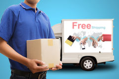 Delivery man Royalty Free Stock Photography