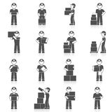 Delivery Man Icon Royalty Free Stock Images
