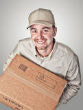 Delivery man portrait Royalty Free Stock Photography