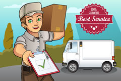 Delivery Man Royalty Free Stock Image