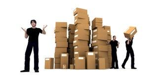 Delivery men Stock Photos