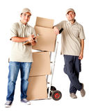 Delivery men Royalty Free Stock Photos