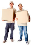 Delivery men Royalty Free Stock Photography