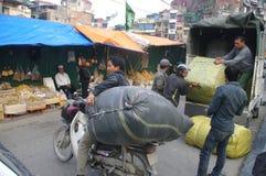 Delivery motorbike stock photos