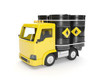 Delivery of oil Royalty Free Stock Image
