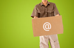 Delivery online Royalty Free Stock Images