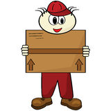 Delivery person Stock Images