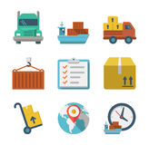 Delivery person freight logistic business industry Royalty Free Stock Photo