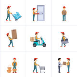 Delivery Person Freight Logistic Business Service Stock Photography