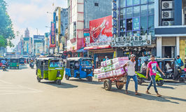 Delivery in Pettah Stock Photos
