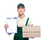 Delivery. Royalty Free Stock Photos