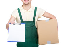 Delivery. Royalty Free Stock Photography