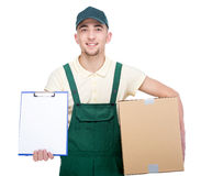 Delivery. Royalty Free Stock Image