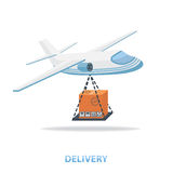 Delivery plane Royalty Free Stock Photos