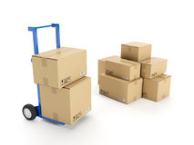Delivery of possession Stock Photo