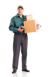Delivery service Stock Photo