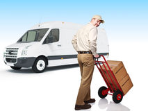 Delivery service Stock Images