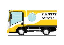 Delivery service. Stock Photos