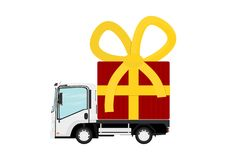 Delivery service. Royalty Free Stock Photography