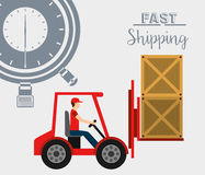Delivery service Royalty Free Stock Photography