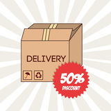 Delivery service Royalty Free Stock Image