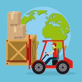 Delivery service Royalty Free Stock Photos