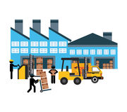 Delivery service. Design, vector illustration eps10 graphic Stock Image