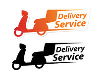 Delivery Service Sign Stock Photo