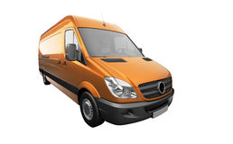 Delivery service van Royalty Free Stock Image
