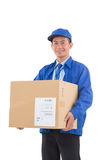Delivery service worker Royalty Free Stock Photos