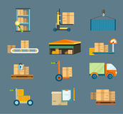 Delivery shipping concept Stock Photo