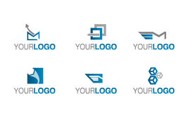 Delivery and shipping logo vector Royalty Free Stock Photography