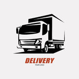 Delivery and shipping service stock illustration