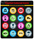 Delivery simply icons Royalty Free Stock Photography