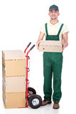 Delivery. Stock Photo